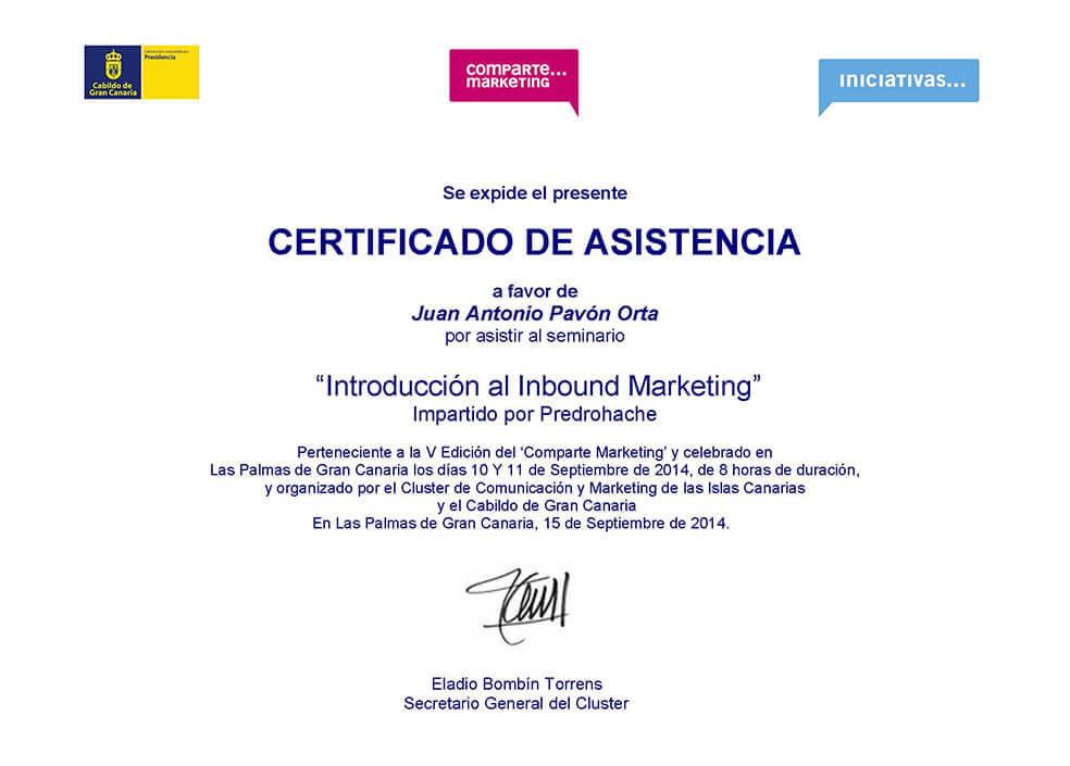 Inbound Marketing - Juan Antonio Pavón