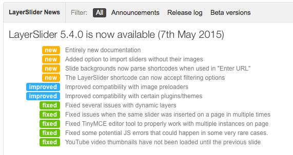 Actualización real de LayerSlider WP