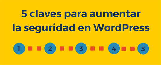 5 claves para aumentar la seguridad en WordPress