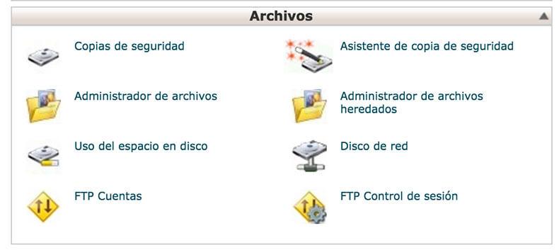 FTP de Cpanel