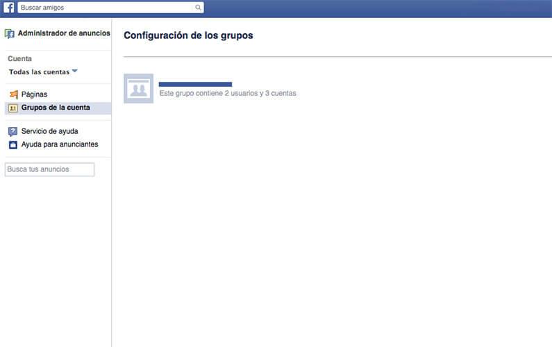 Grupos de cuentas Facebook Ads - japavon.com