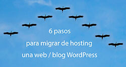 Migrar web o blog en Wordpress