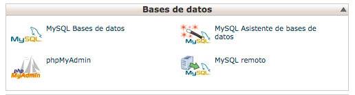 MySQL CPanel
