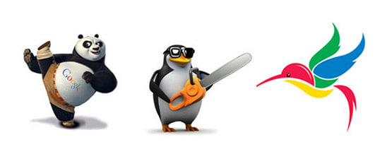 Posicionamiento Web con Panda, Pingüino y Colibrí