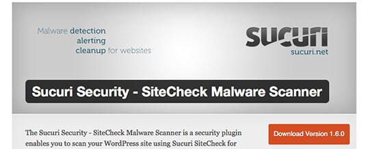 Pluging Sucuri para WordPress y detecta malware en tu web